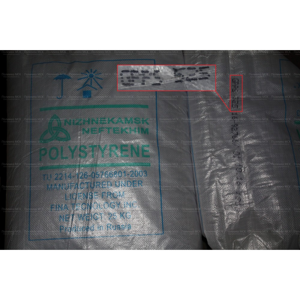 Полистирол 525 Нижнекамскнефтехим ТУ 2214-126-05766801-2003