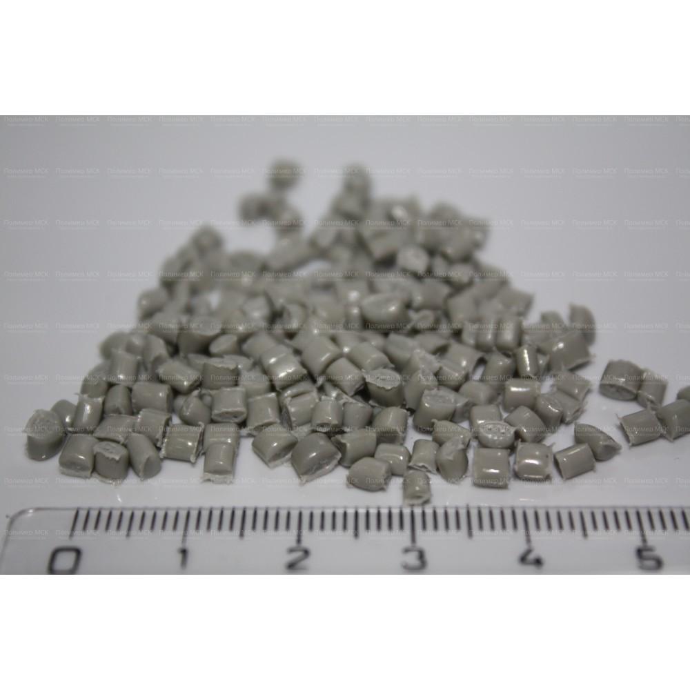 Вторичный полиэтилен высокого давления Серый